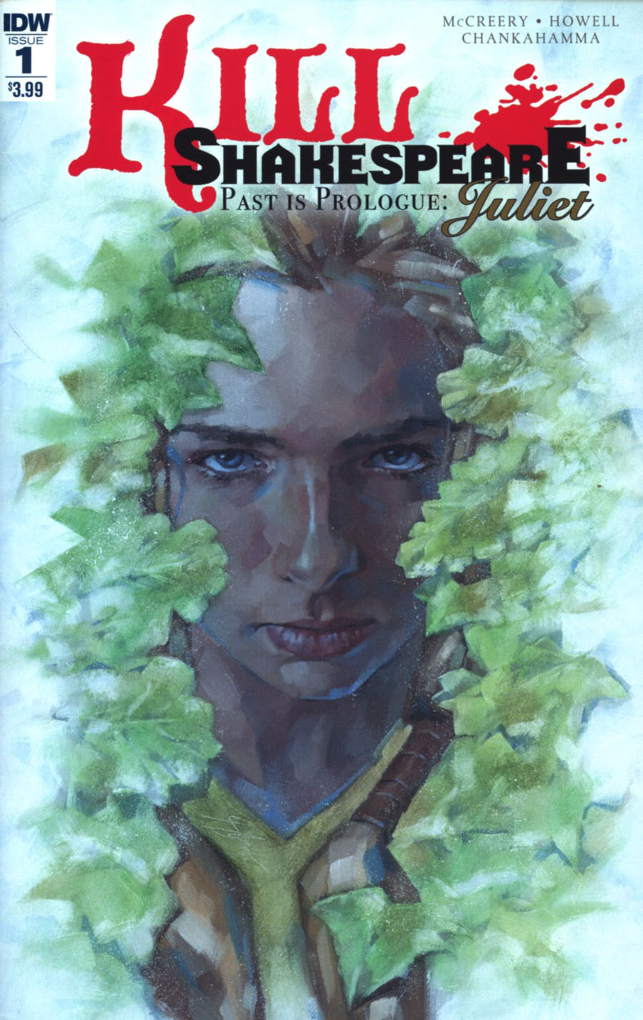 Kill Shakespeare Past Is Prologue Juliet #1 Cover A Regular Simon Davis Cover