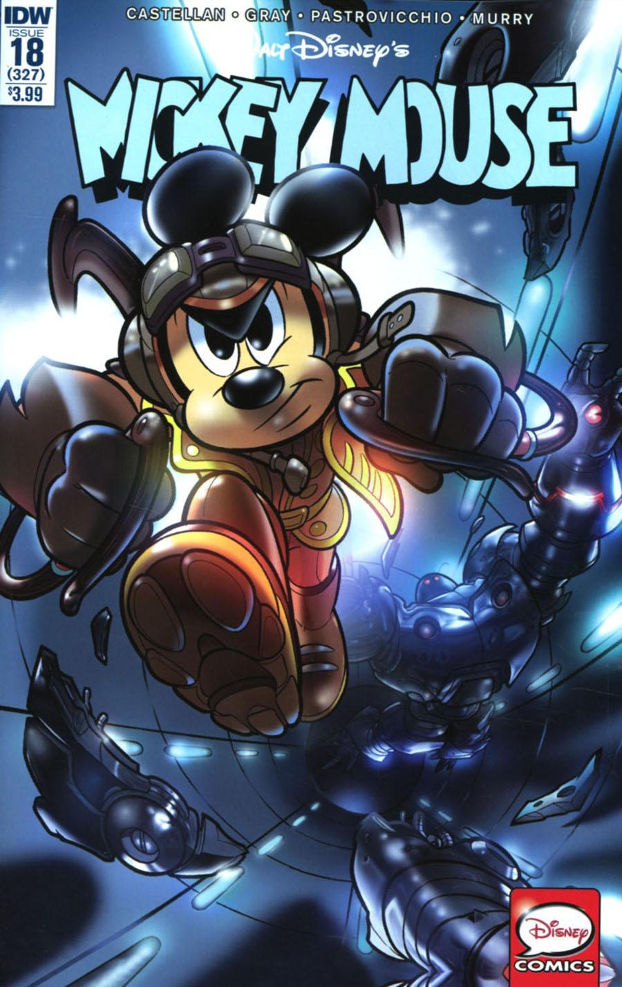 Mickey Mouse Vol 2 #18 Cover A Regular Lorenzo Pastrovicchio Cover