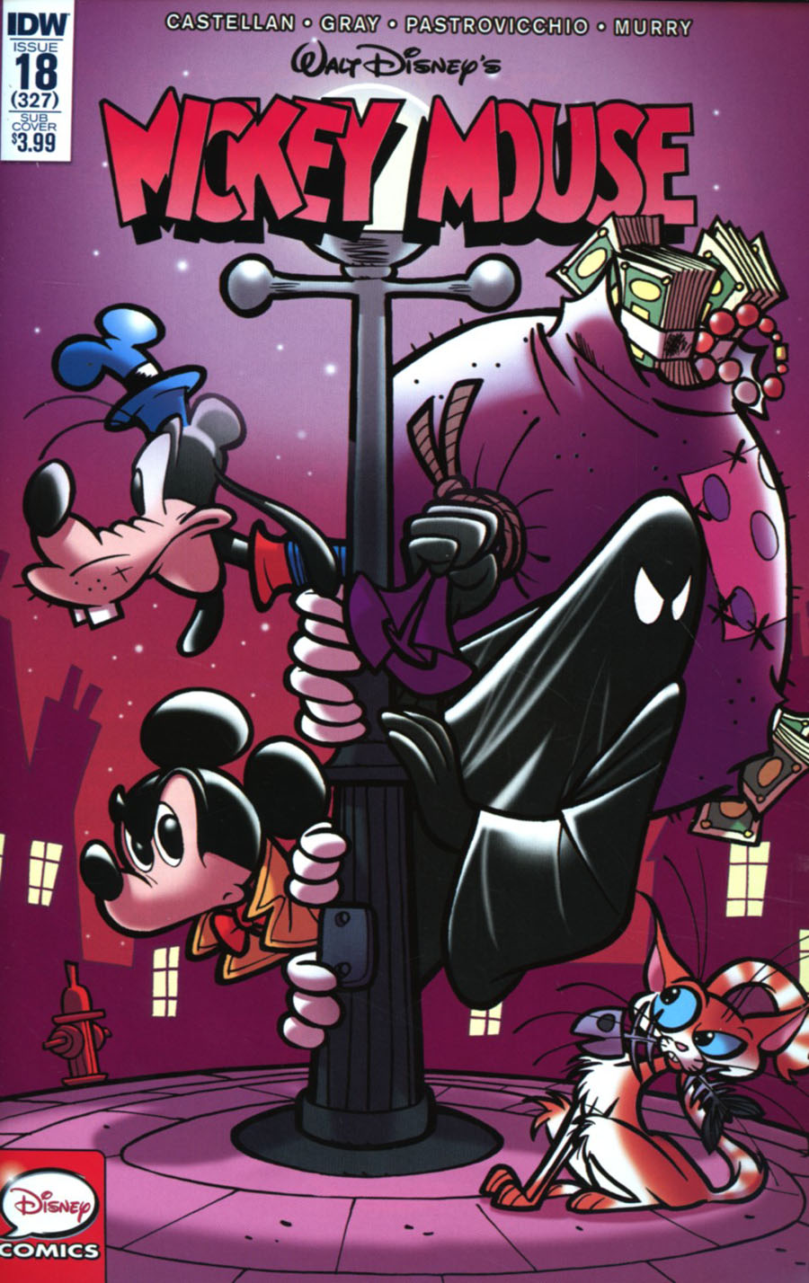 Mickey Mouse Vol 2 #18 Cover B Variant Donald Soffriti Subscription Cover