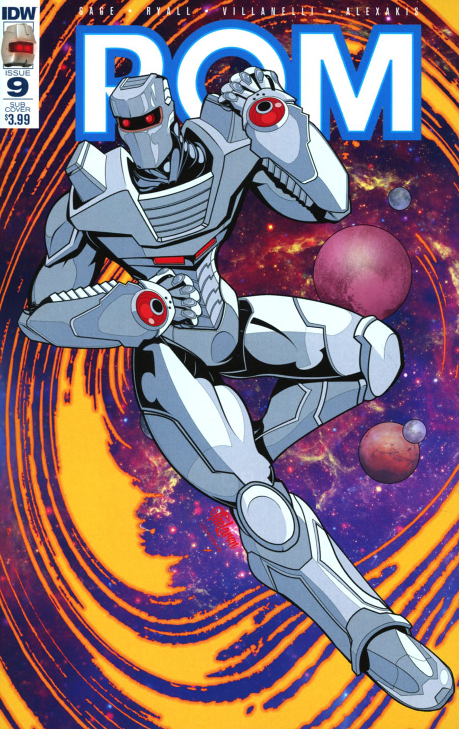ROM Vol 2 #9 Cover D Variant Hal Laren Subscription Cover