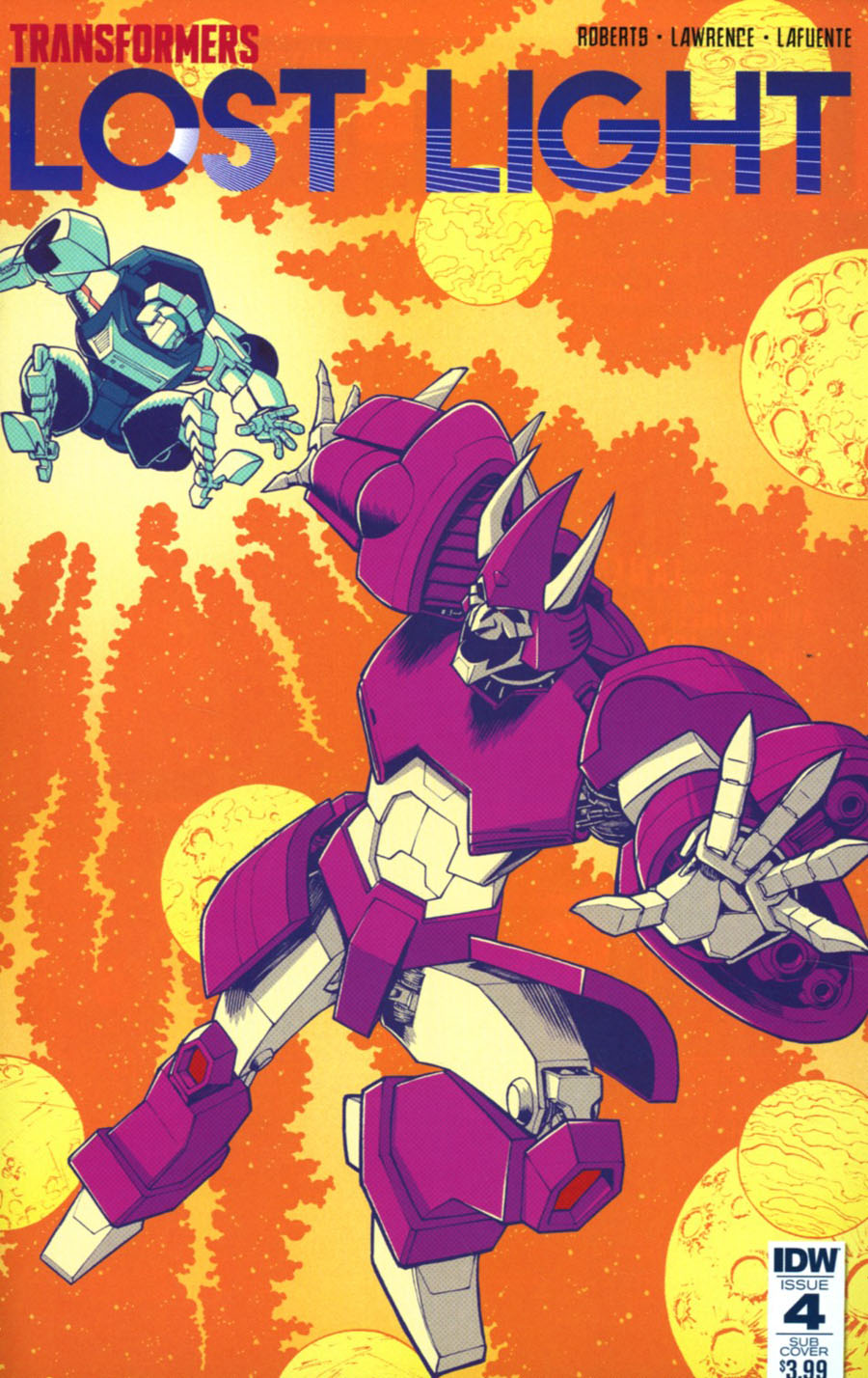 Transformers Lost Light #4 Cover B Variant Nick Roche Subscription Cover