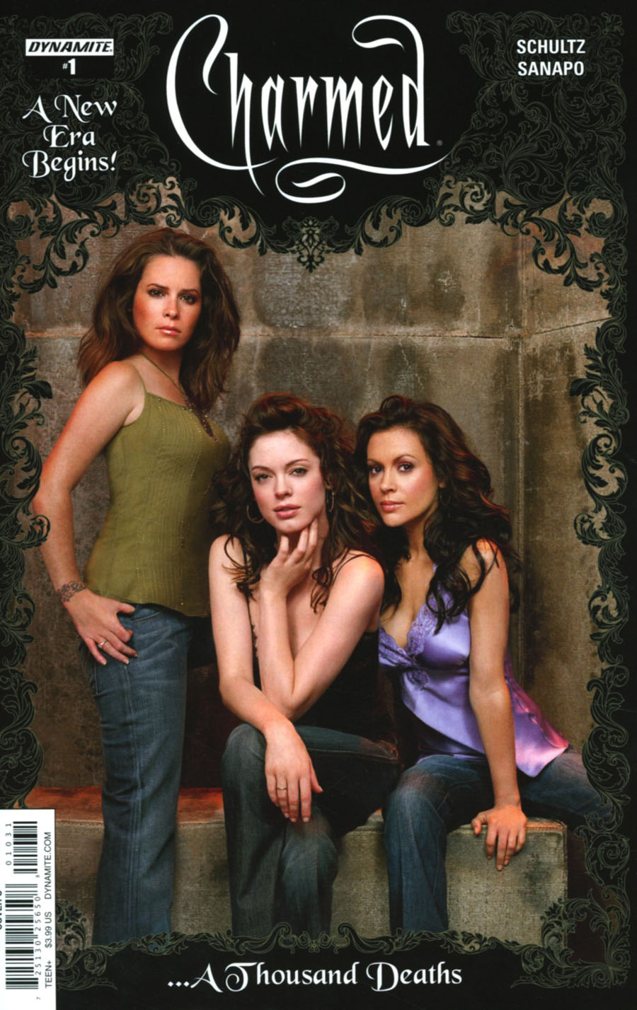 Charmed Vol 2 #1 Cover C Variant Group Photo Cover