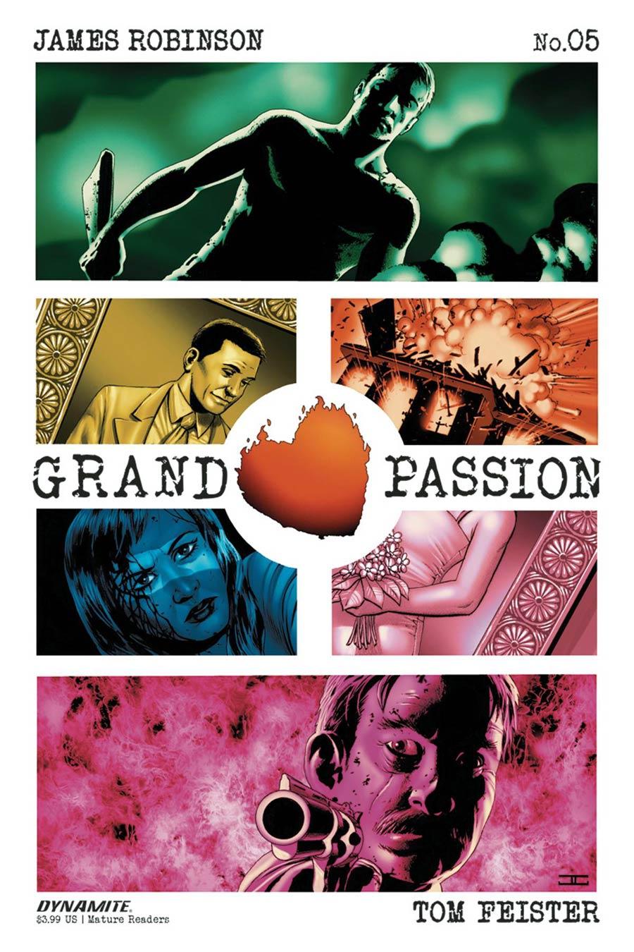 Grand Passion #5 Cover A Regular John Cassaday Cover