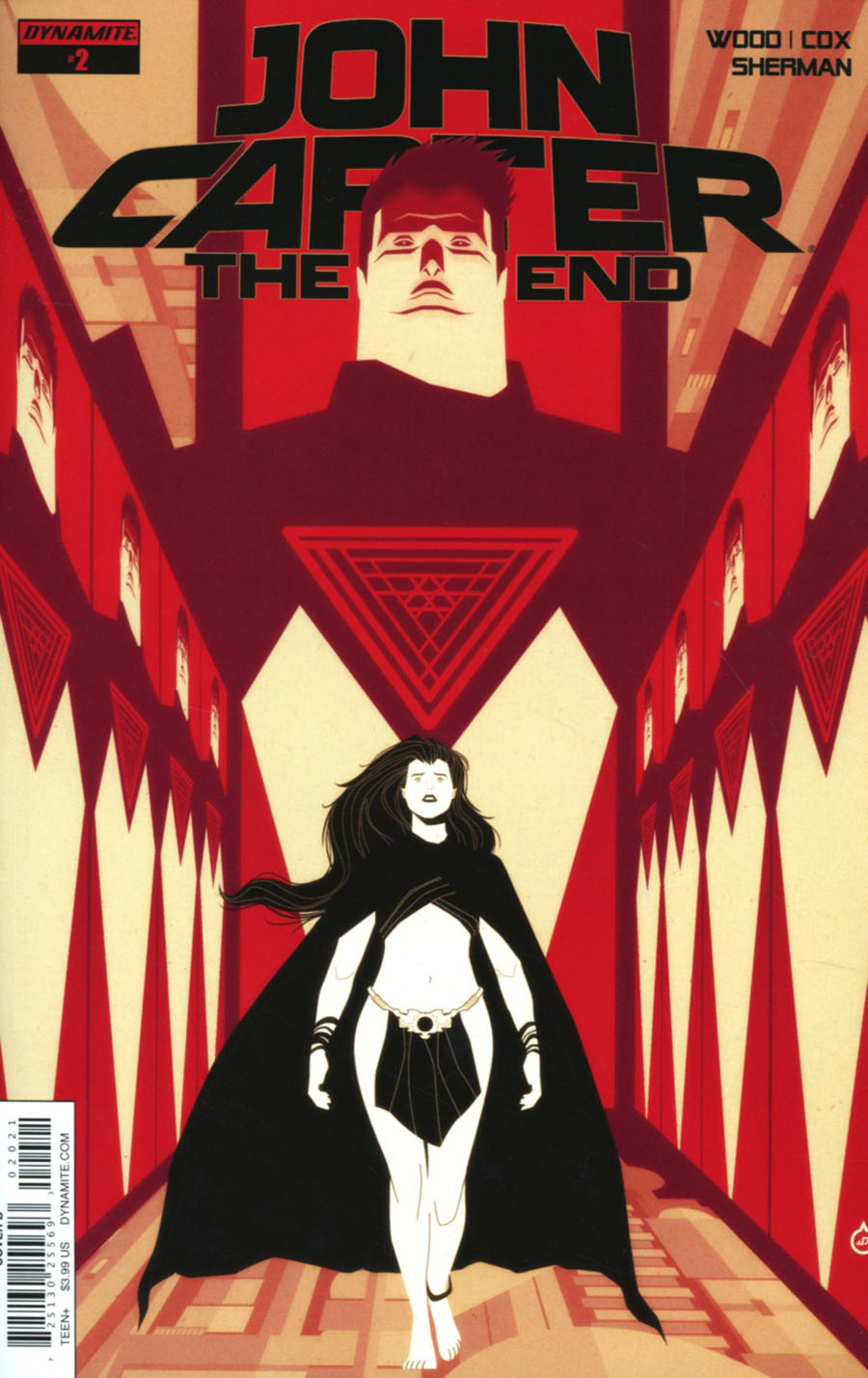 John Carter The End #2 Cover B Variant Juan Doe Cover