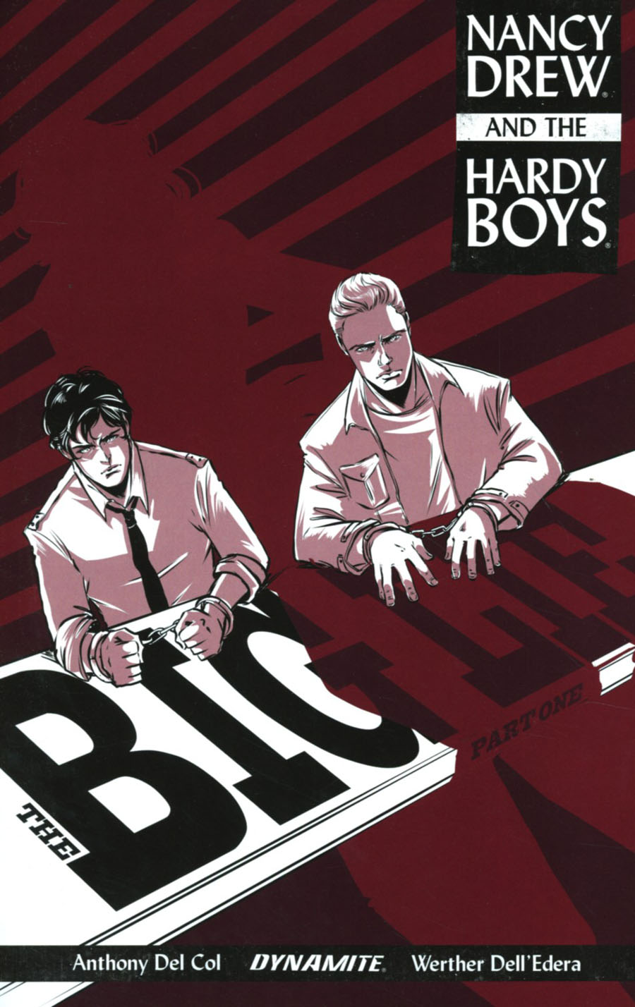 Nancy Drew And The Hardy Boys The Big Lie #1 Cover B Variant Emma Vieceli Cover