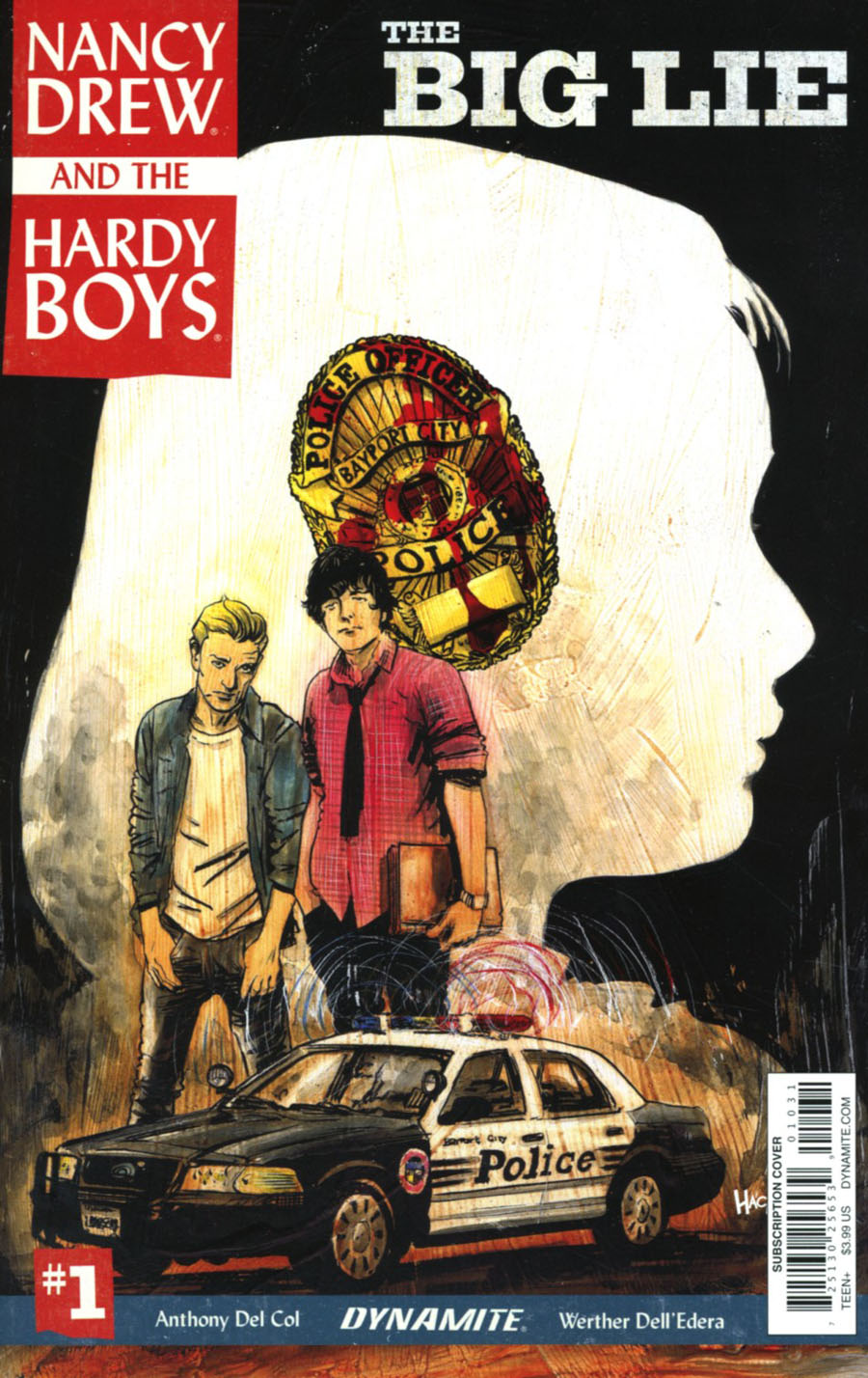Nancy Drew And The Hardy Boys The Big Lie #1 Cover C Variant Robert Hack Subscription Cover