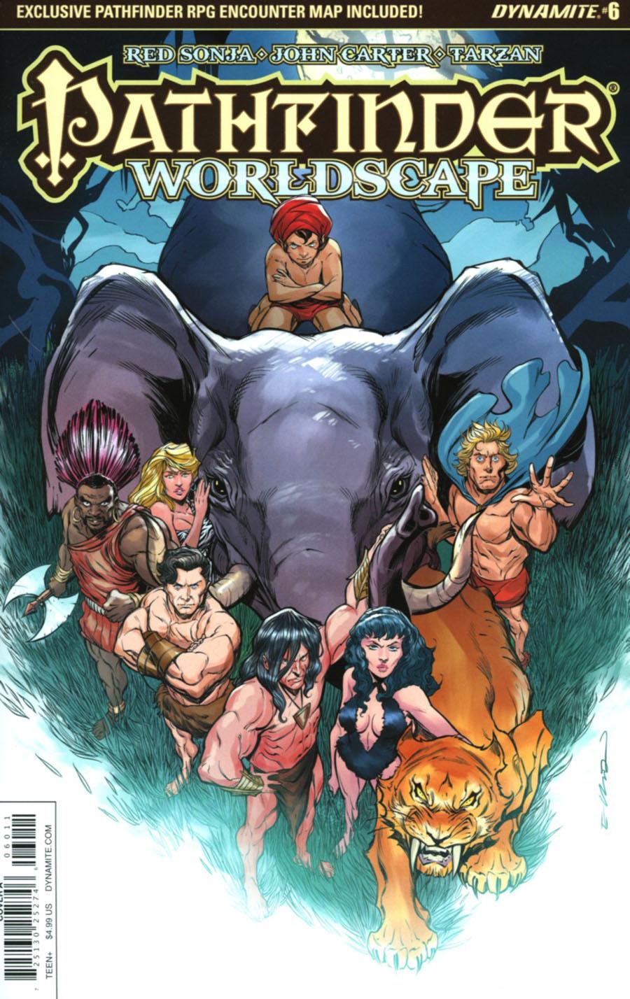 Pathfinder Worldscape #6 Cover A Regular Elliot Fernandez Cover