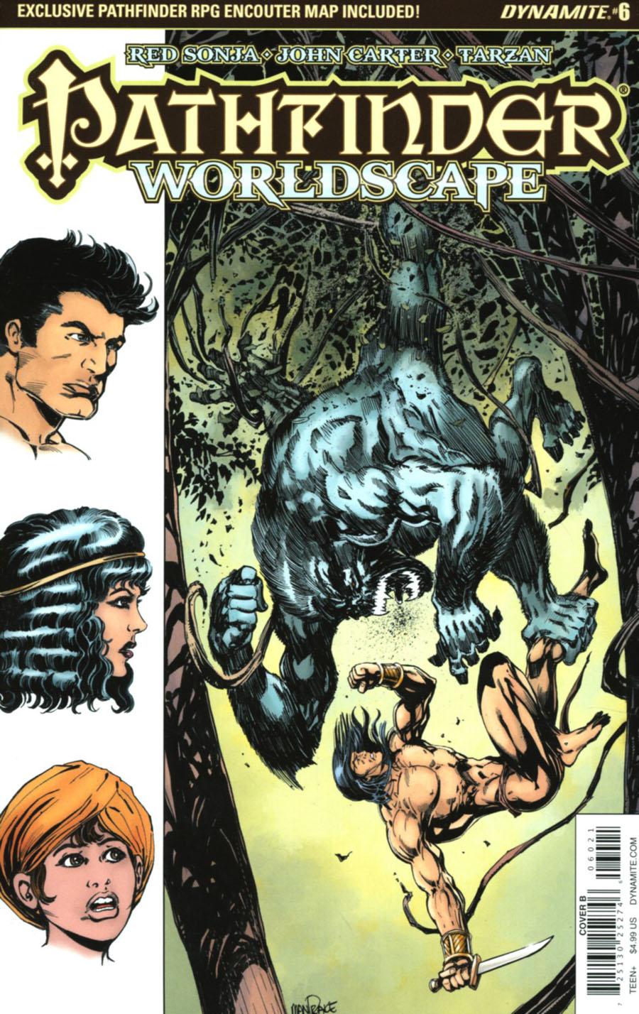 Pathfinder Worldscape #6 Cover B Variant Tom Mandrake Cover