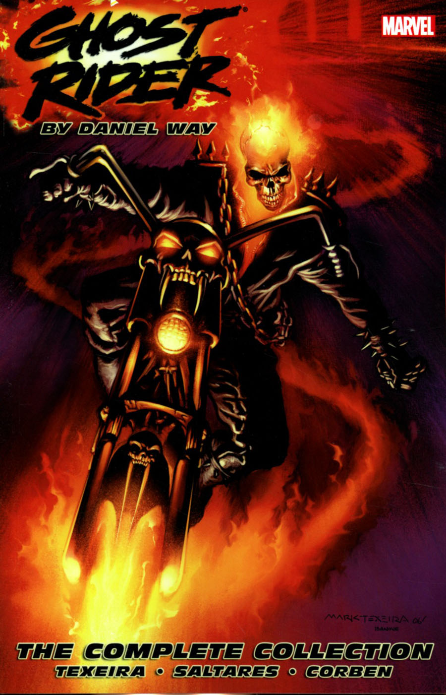 Ghost Rider By Daniel Way Complete Collection TP New Printing