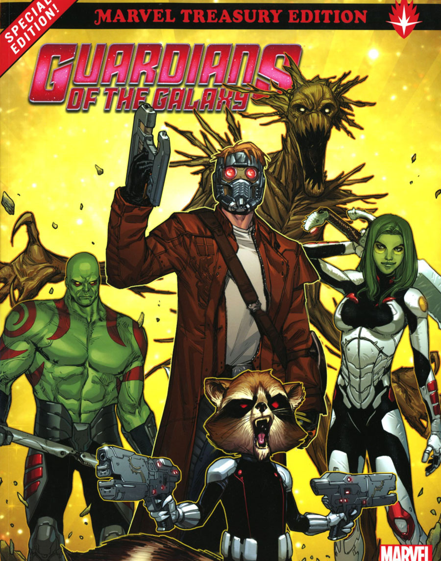 Guardians Of The Galaxy All-New Marvel Treasury Edition TP