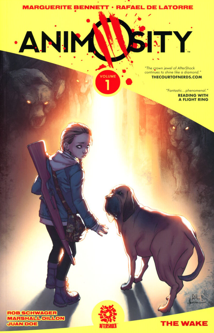 Animosity Vol 1 The Wake TP