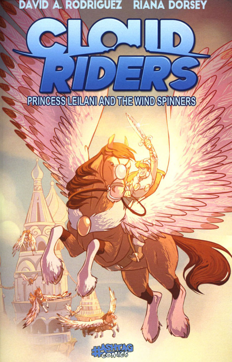 Cloud Riders Princess Leilani And The Wind Spinners GN