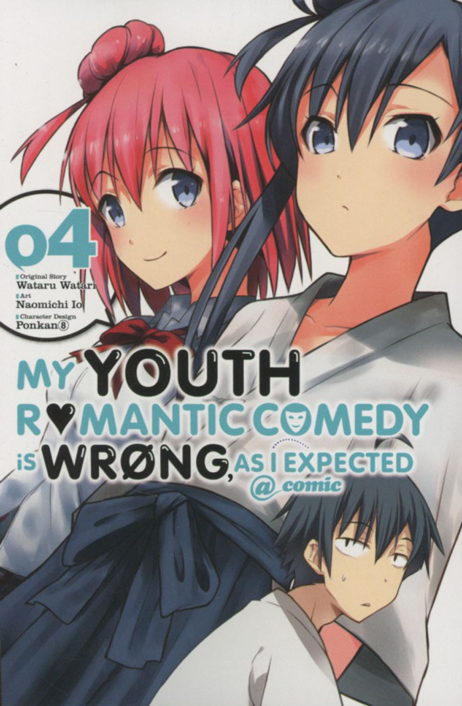 My Youth Romantic Comedy Is Wrong As I Expected Vol 4 GN