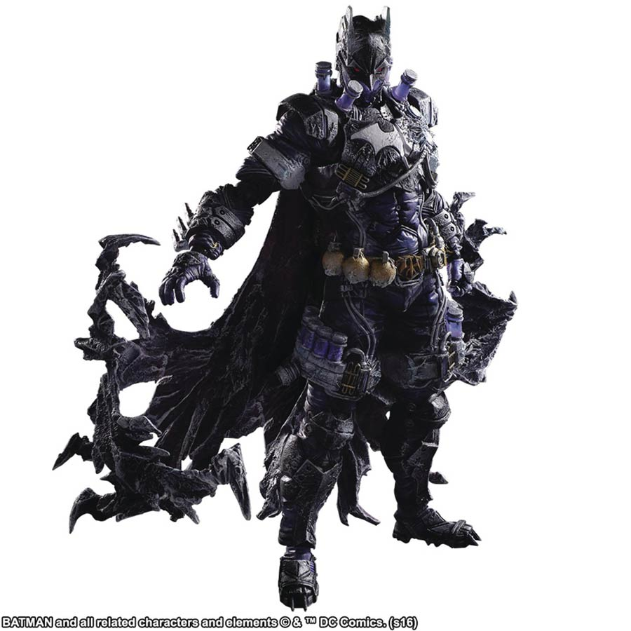 DC Universe Variant Play Arts Kai Batman Rogues Gallery Action Figure - Mr Freeze