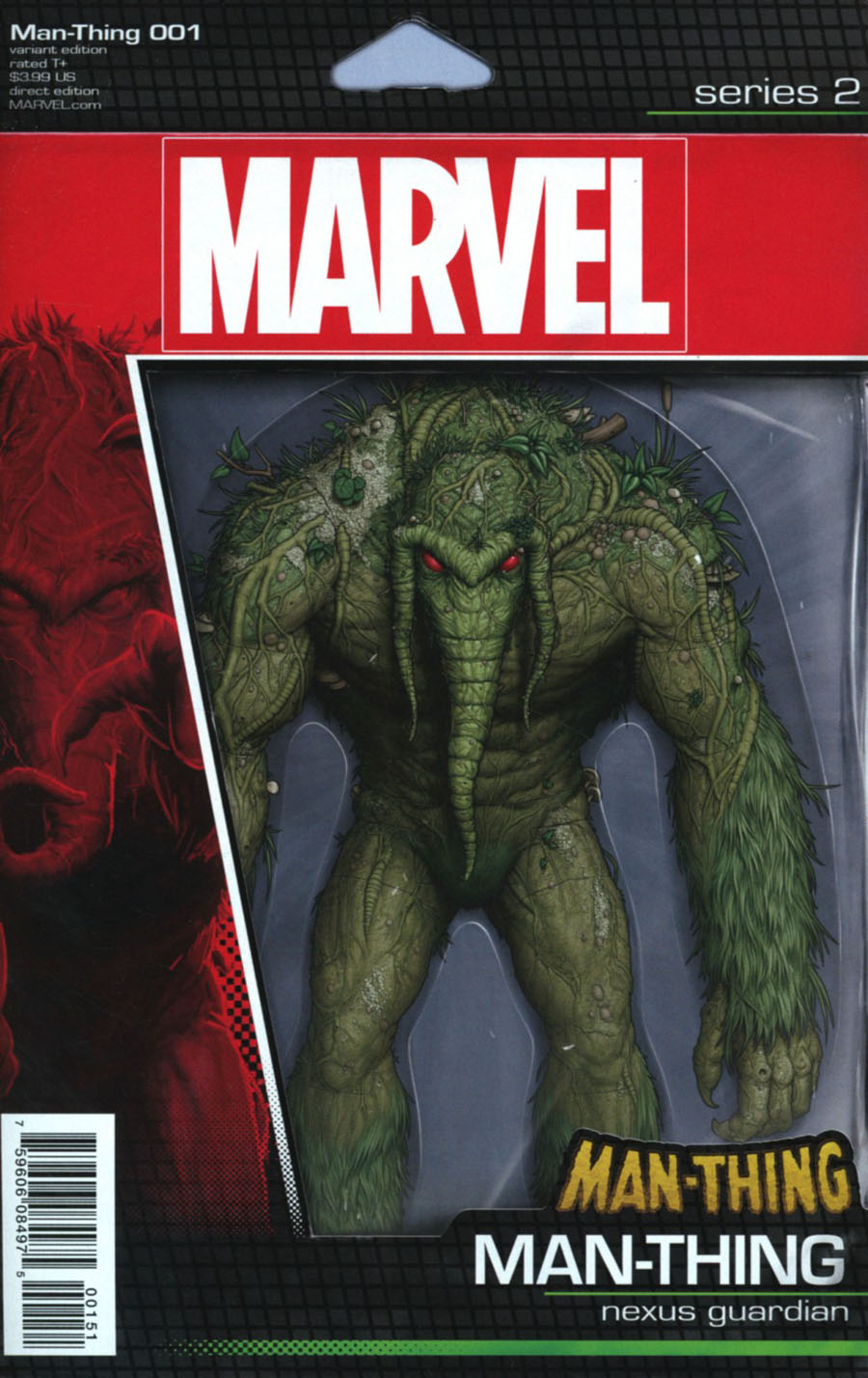 Man-Thing Vol 5 #1 Cover C Variant John Tyler Christopher Action Figure Cover