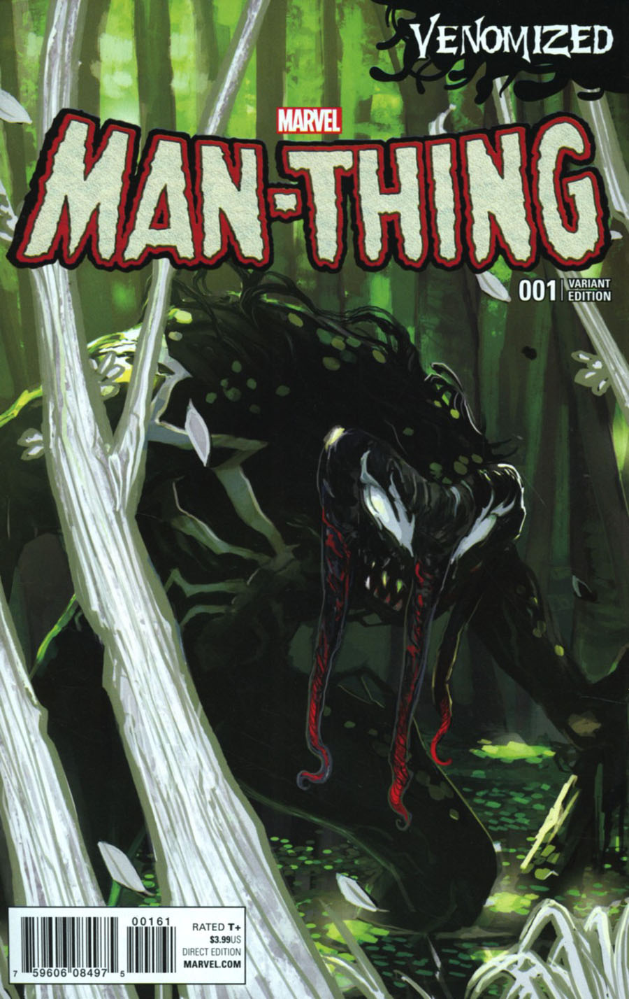Man-Thing Vol 5 #1 Cover D Variant Stephanie Hans Venomized Cover