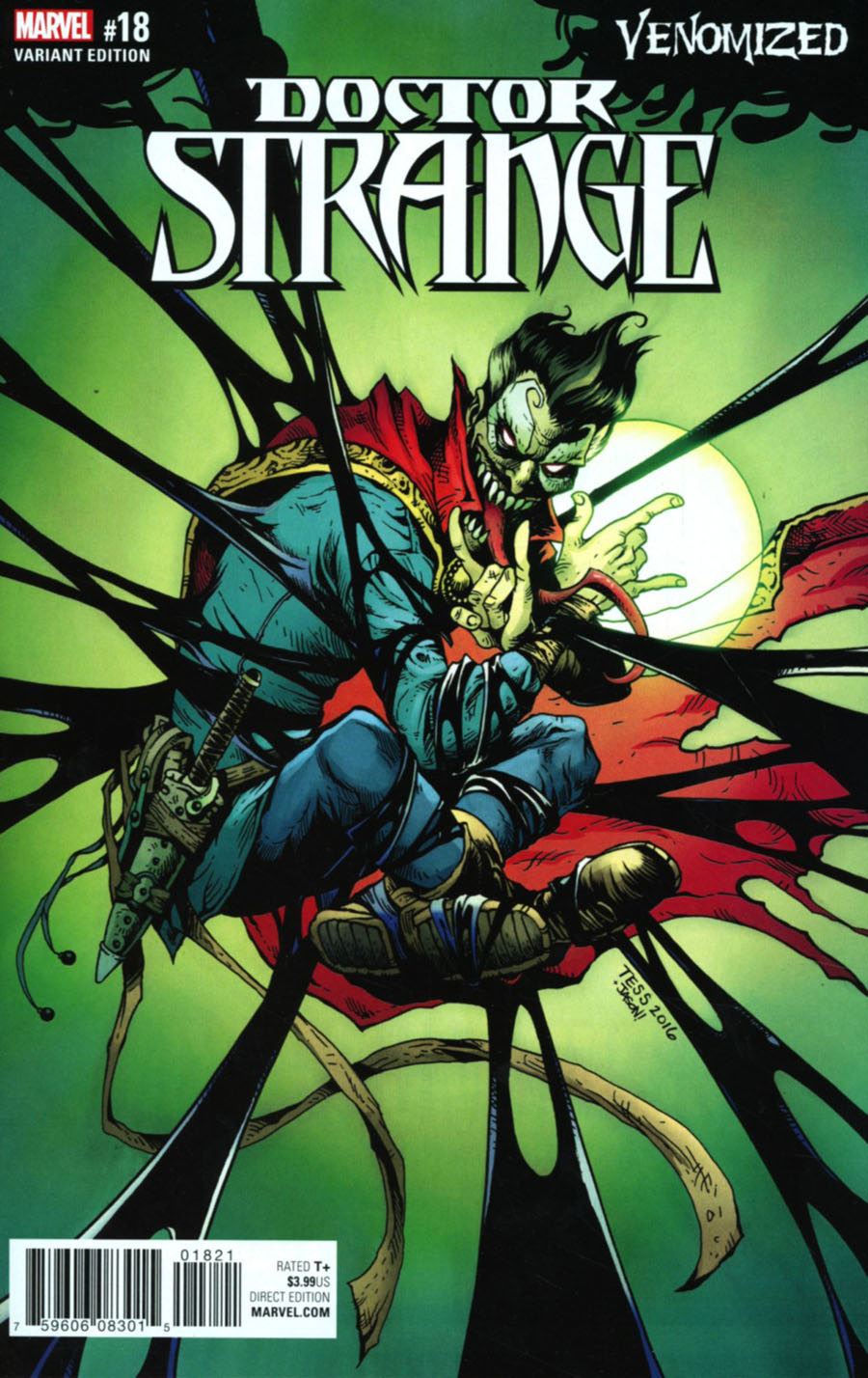 Doctor Strange Vol 4 #18 Cover B Variant Tess Fowler Venomized Cover