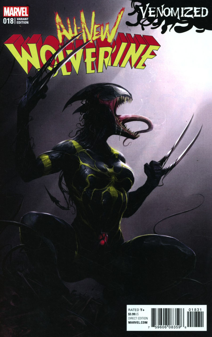 All-New Wolverine #18 Cover C Variant Francesco Mattina Venomized Cover