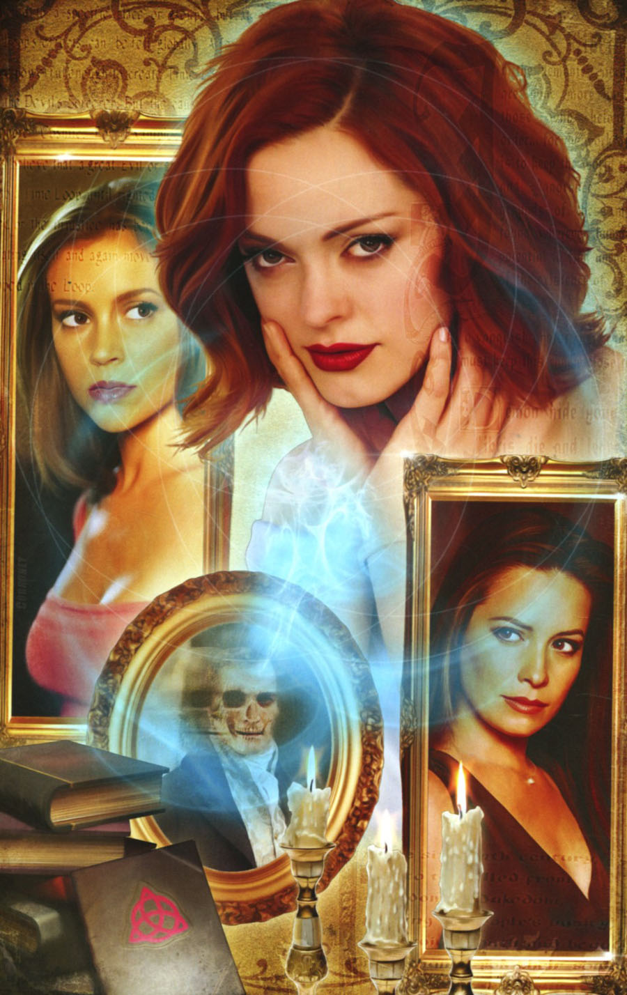 Charmed Vol 2 #1 Cover G Incentive Joe Corroney Virgin Cover