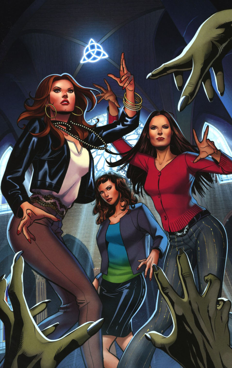 Charmed Vol 2 #1 Cover H Incentive Maria Sanapo Virgin Cover