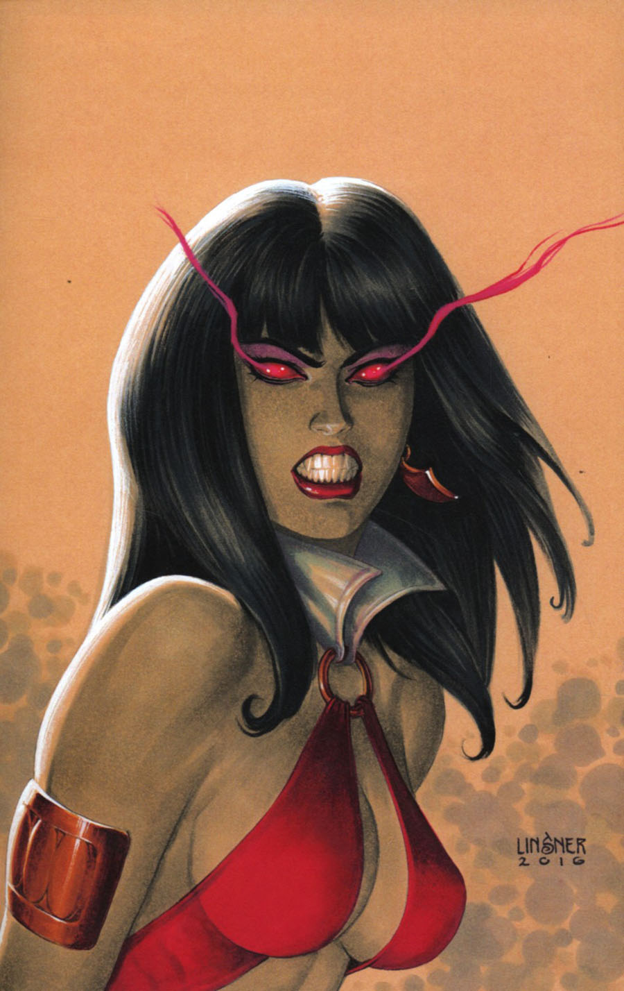 Vampirella Vol 7 #1 Cover I Incentive Joseph Michael Linsner Virgin Cover
