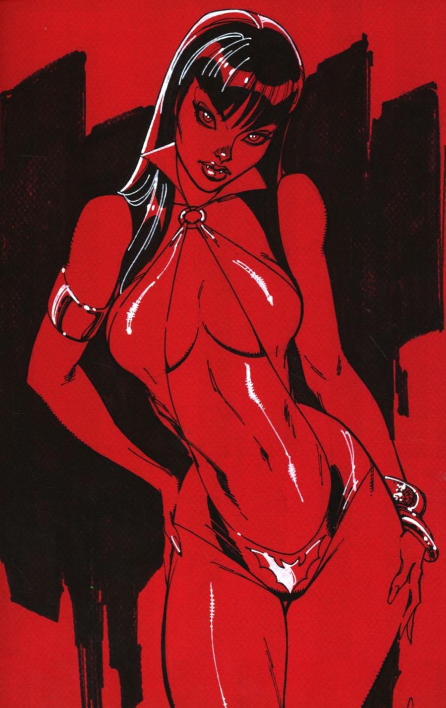 Vampirella Vol 7 #1 Cover J Incentive J Scott Campbell Virgin Cover