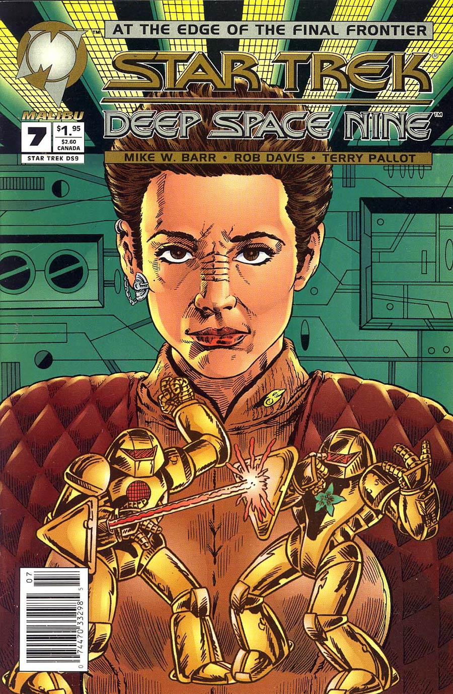 Star Trek Deep Space Nine (Malibu) #7 Cover B Newsstand