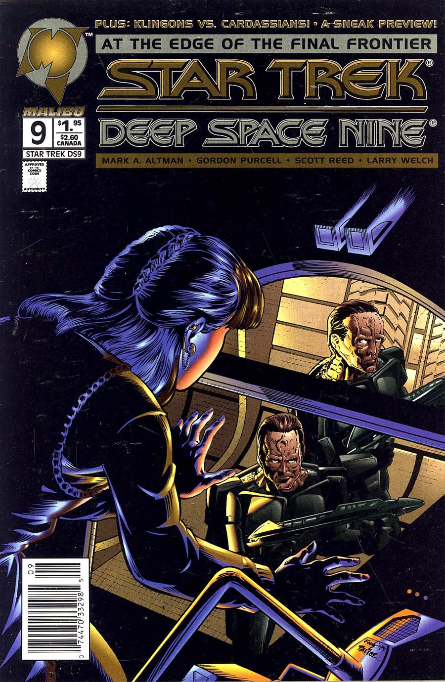 Star Trek Deep Space Nine (Malibu) #9 Cover B Newsstand