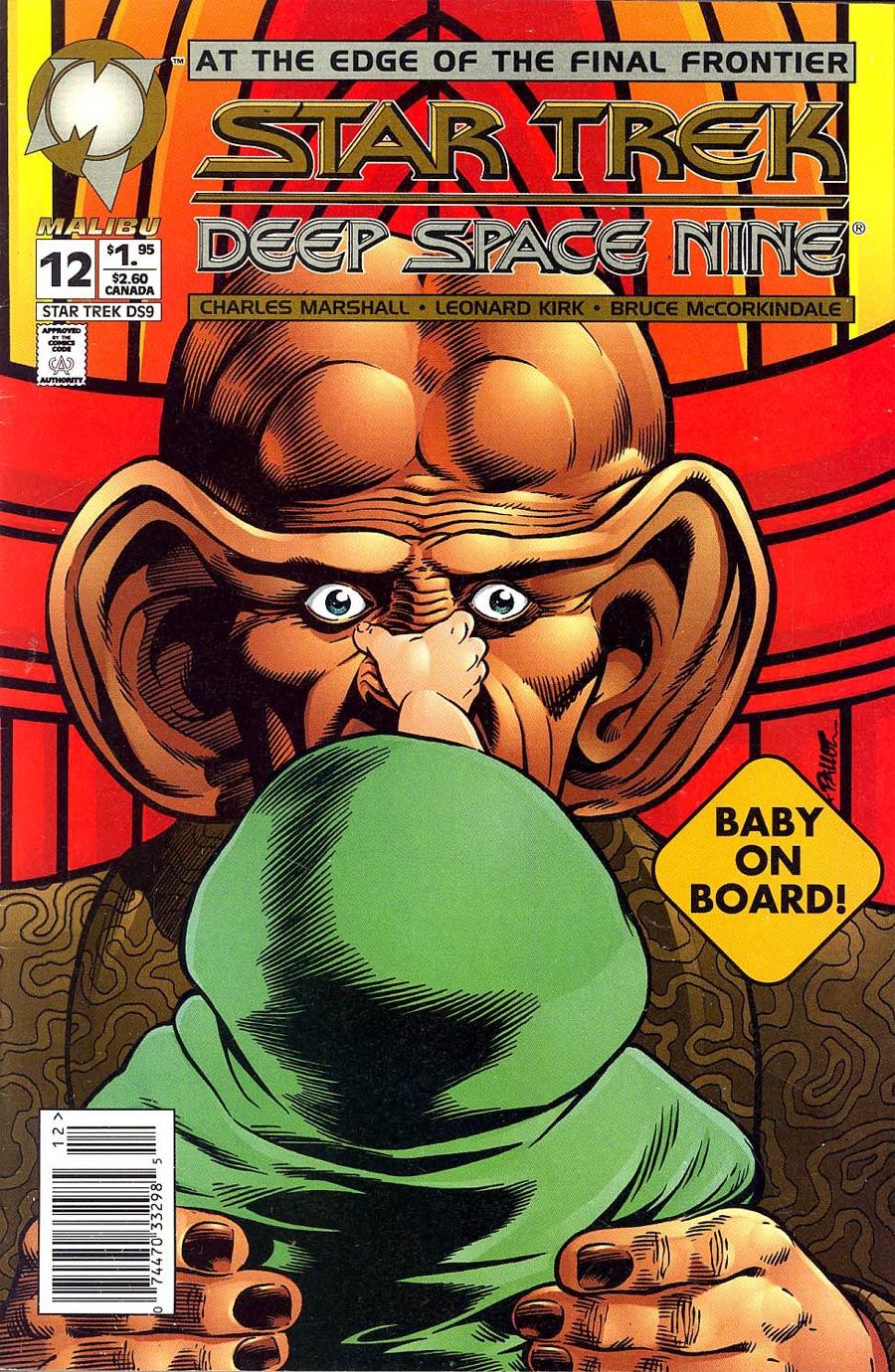Star Trek Deep Space Nine (Malibu) #12 Cover B Newsstand