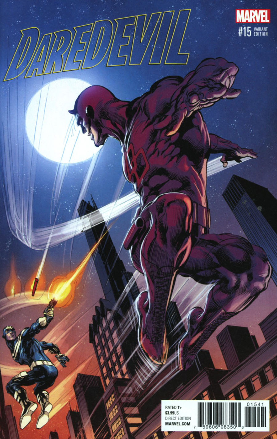 Daredevil Vol 5 #15 Cover D Incentive Classic Artist Variant Cover (Marvel Now Tie-In)