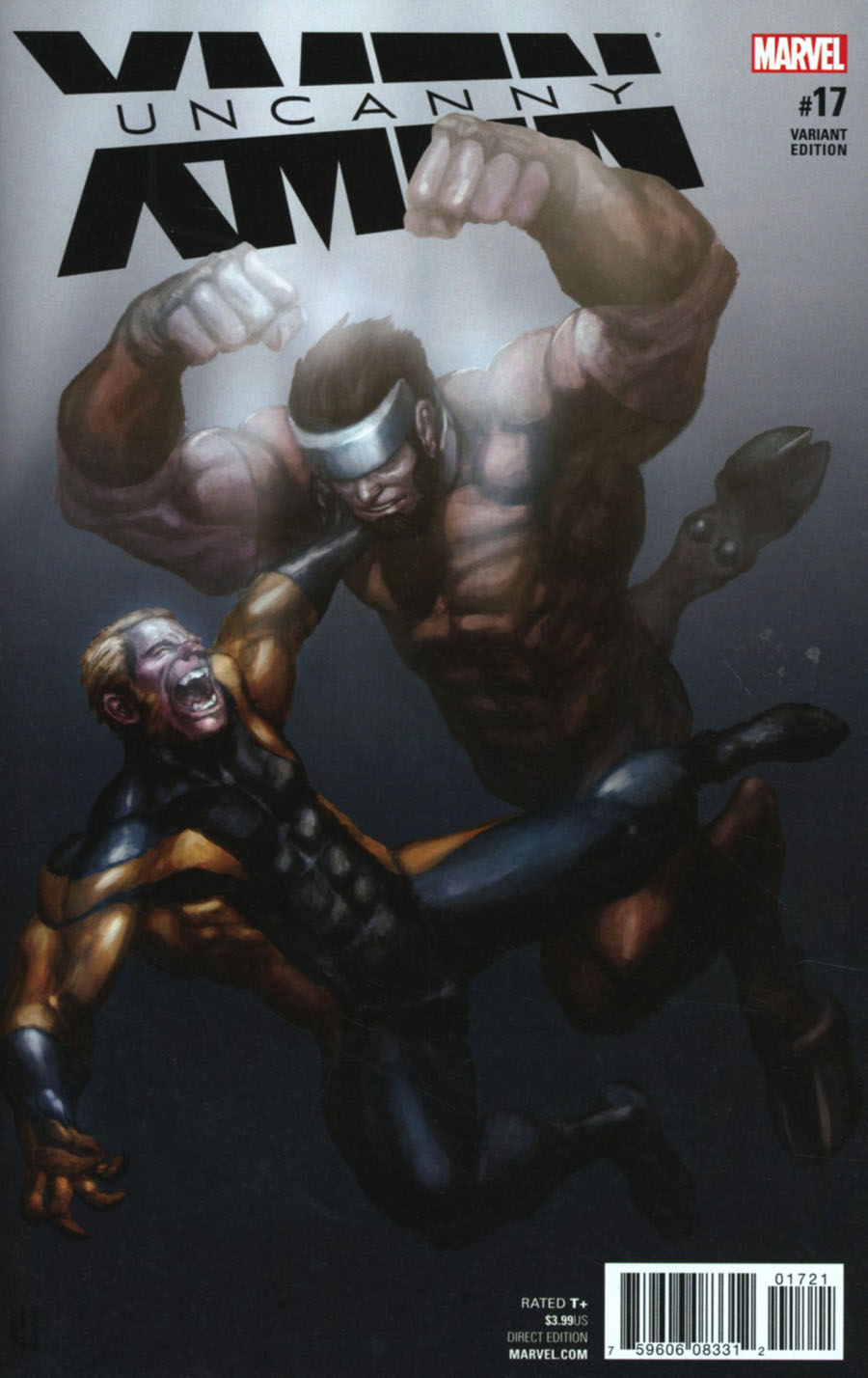 Uncanny X-Men Vol 4 #17 Cover B Incentive Variant Cover (Inhumans vs X-Men Tie-In)