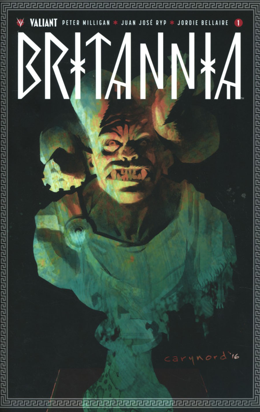 Britannia #1 Cover I 4th Ptg Cary Nord Variant Cover