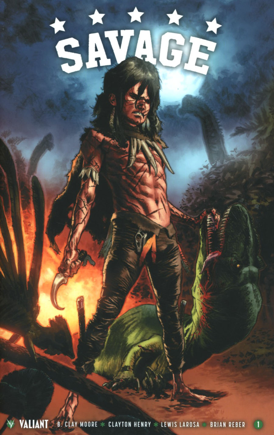 Savage #1 Cover G 2nd Ptg Lewis LaRosa Variant Cover