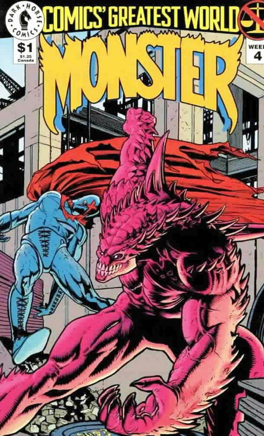 Comics Greatest World Arcadia Week #4 Monster