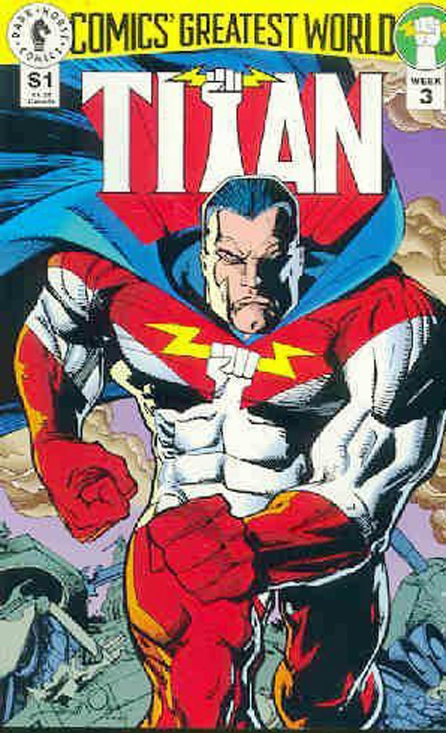 Comics Greatest World Golden City Week #3 Titan