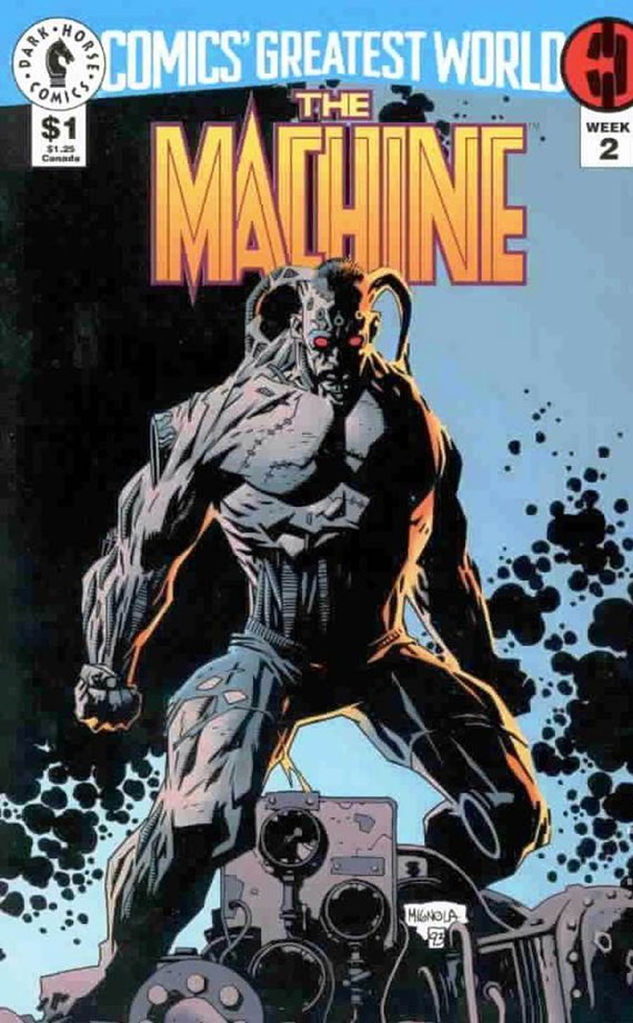 Comics Greatest World Steel Harbor Week #2 The Machine