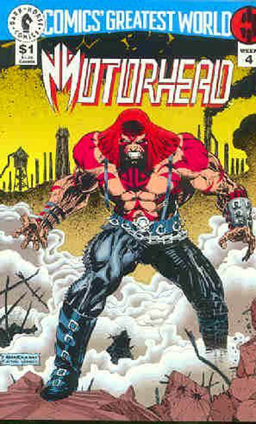 Comics Greatest World Steel Harbor Week #4 Motorhead