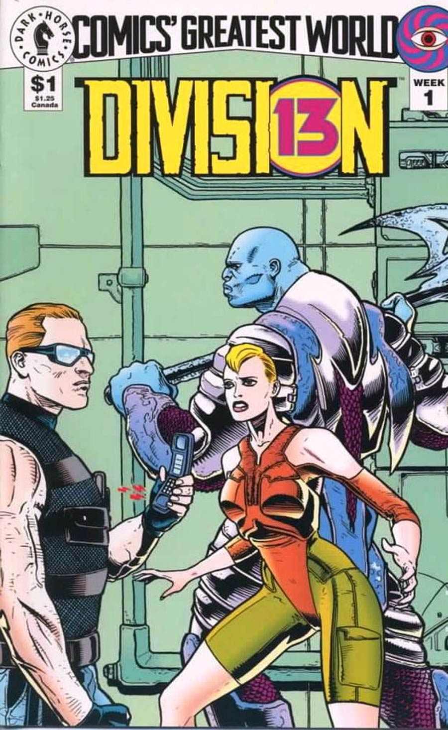 Comics Greatest World Vortex Week #1 Division Cover A