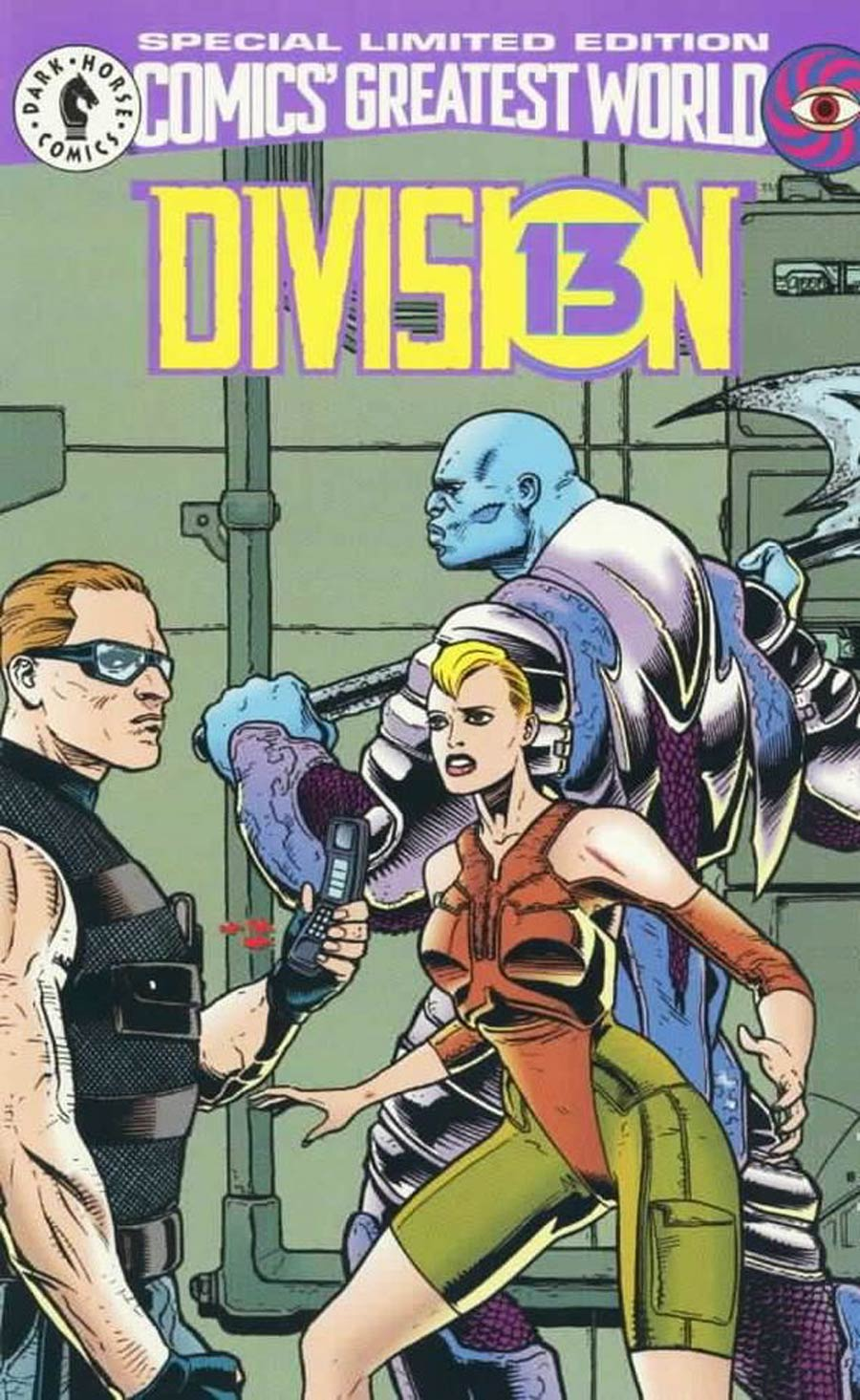 Comics Greatest World Vortex Week #1 Division Cover C Special Limited Edition