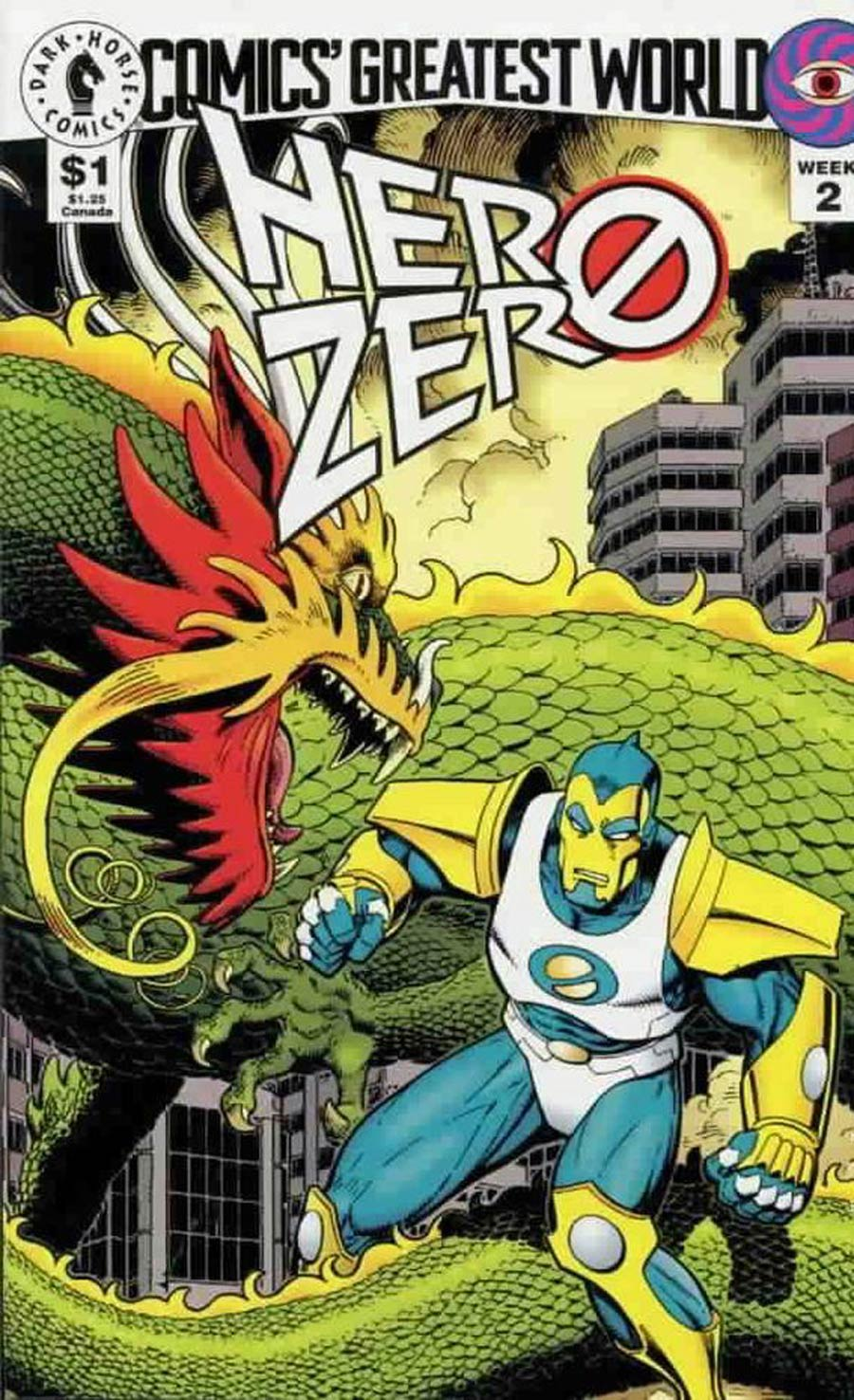 Comics Greatest World Vortex Week #2 Hero Zero