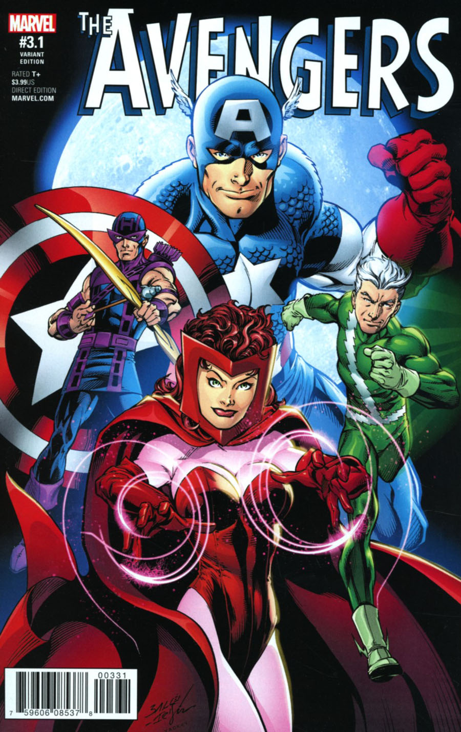 Avengers Vol 6 #3.1 Cover C Incentive Mark Bagley Variant Cover