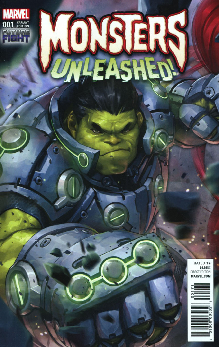 Monsters Unleashed #1 Cover H Incentive Jeehyung Lee Video Game Variant Cover