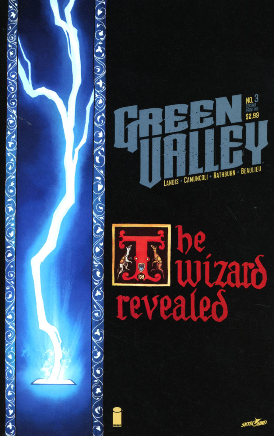 Green Valley #3 Cover B 2nd Ptg Giuseppe Camuncoli Variant Cover