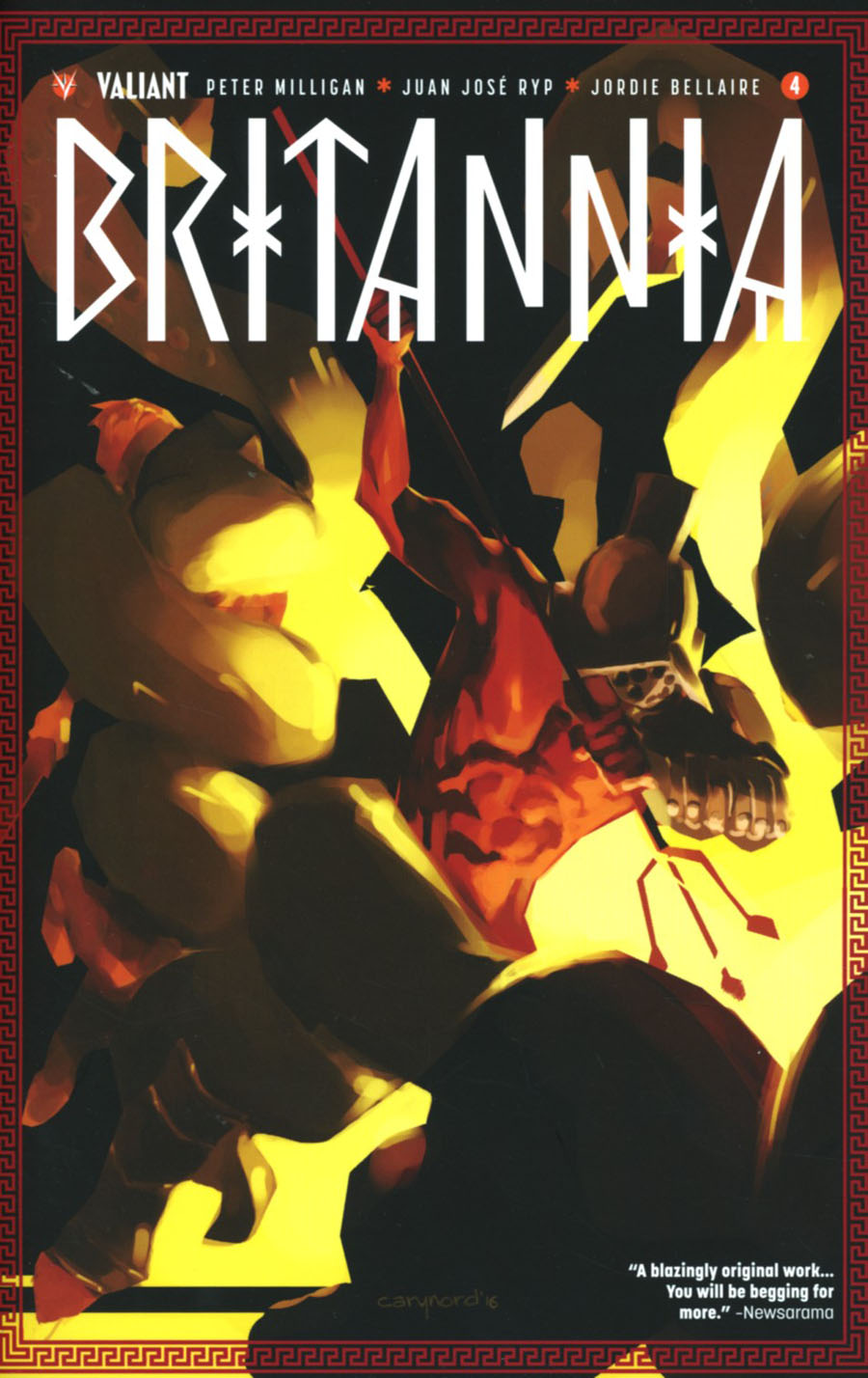 Britannia #4 Cover G 2nd Ptg Cary Nord Variant Cover