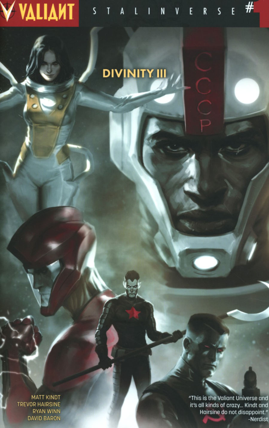 Divinity III Stalinverse #1 Cover H 2nd Ptg Jelena Kevic Djurdjevic Variant Cover