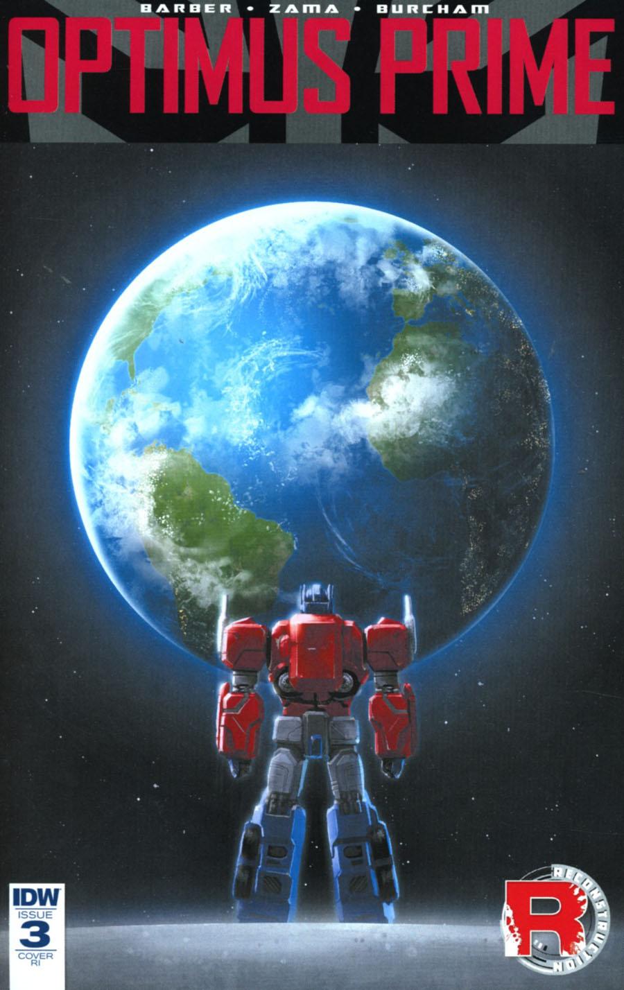 Optimus Prime #3 Cover D Incentive Joana Lafuente Variant Cover
