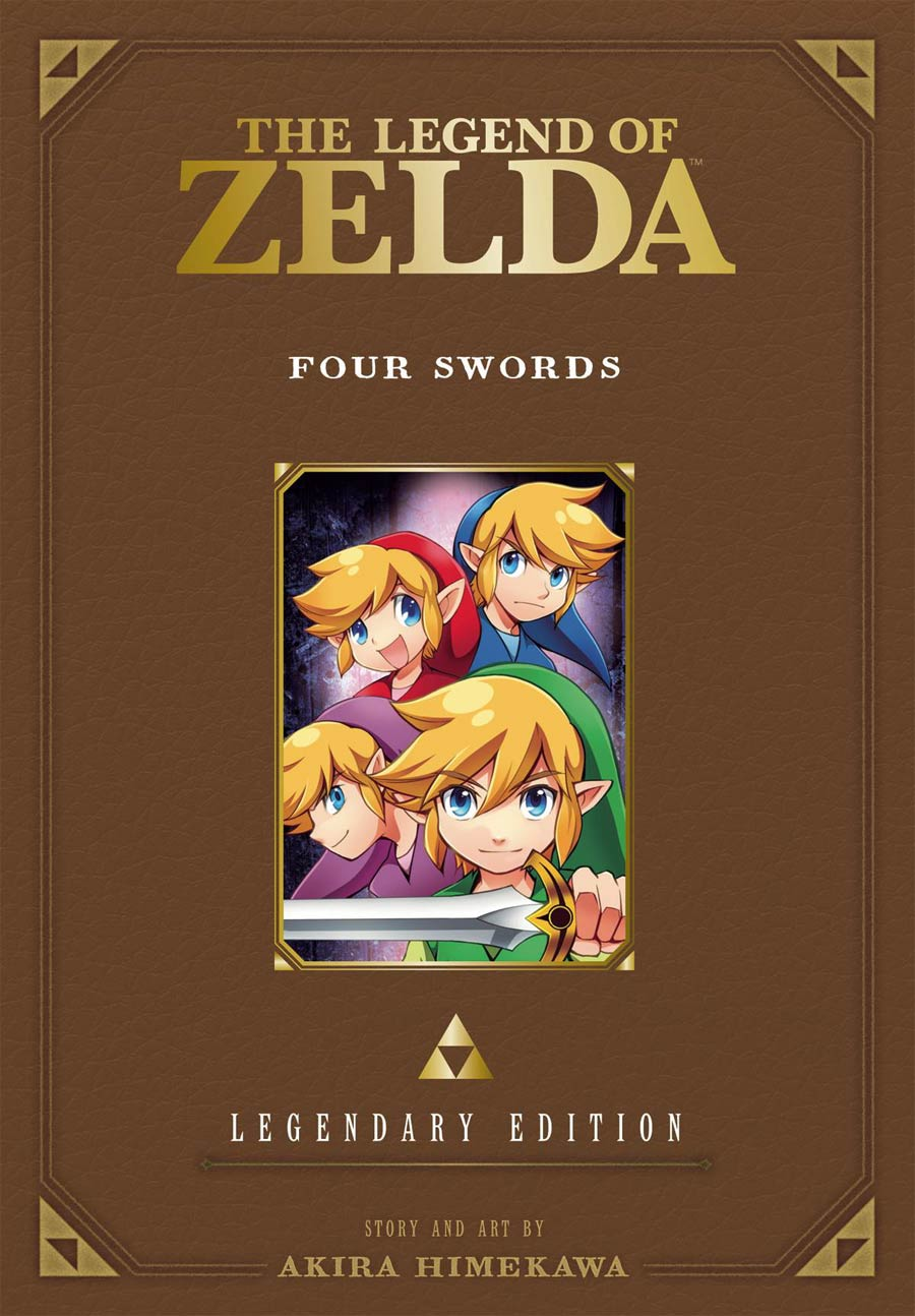 Legend Of Zelda Legendary Edition Vol 5 Four Swords GN