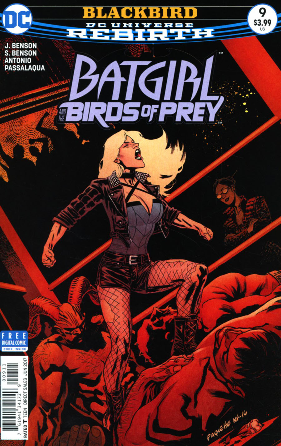 Batgirl And The Birds Of Prey #9 Cover A Regular Yanick Paquette Cover