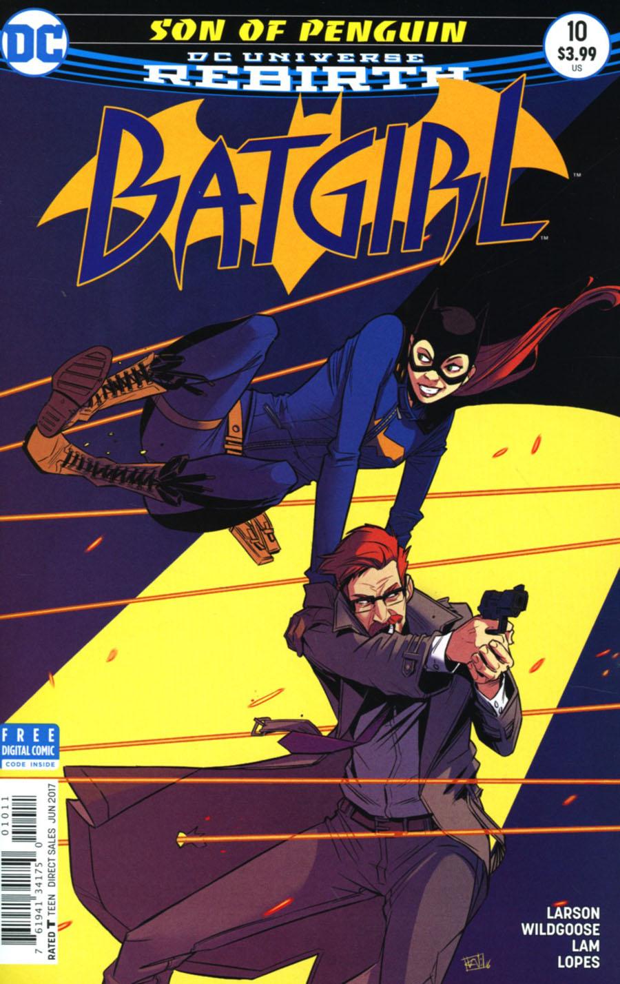 Batgirl Vol 5 #10 Cover A Regular Chris Wildgoose Cover