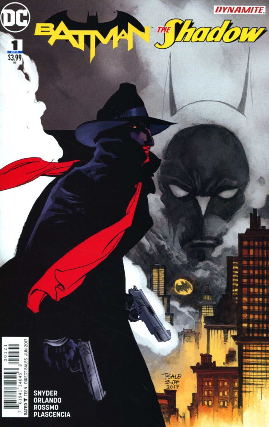 Batman The Shadow #1 Cover B Variant Tim Sale Cover